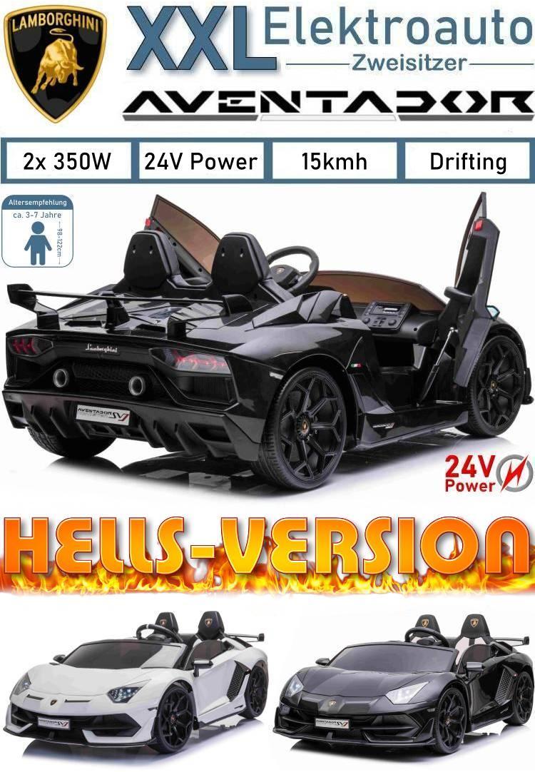 Kinder Elektroauto Lamborghini Aventador Hells-Version 24V