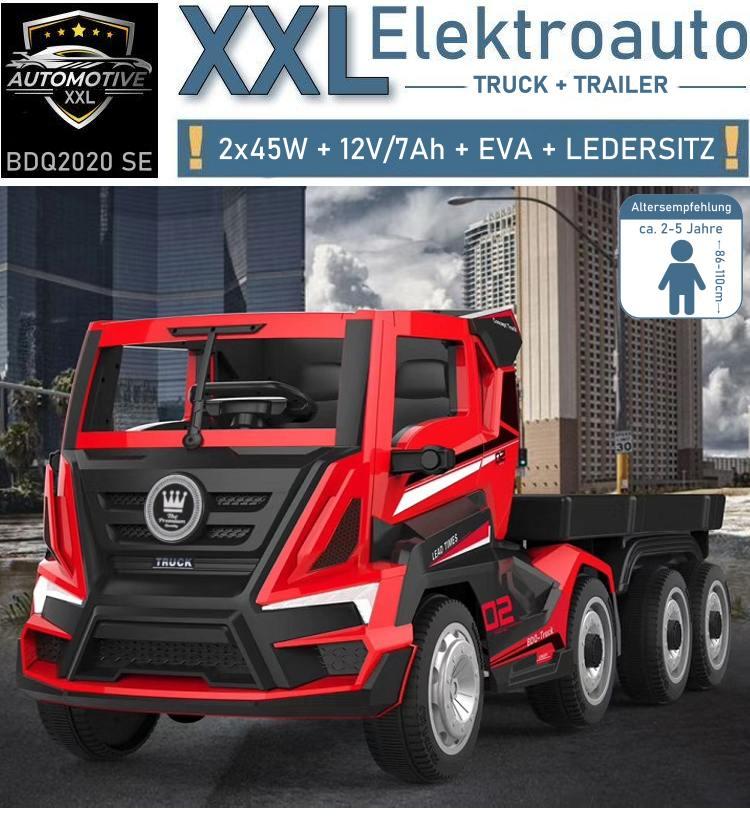 Kinder Elektrofahrzeug Elektroauto LKW Truck BDQ2020