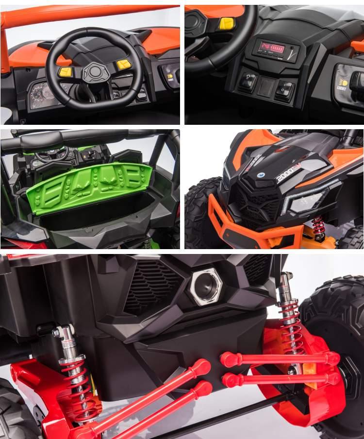 Zweisitzer Elektroauto für Kinder Geländewagen XMX-613