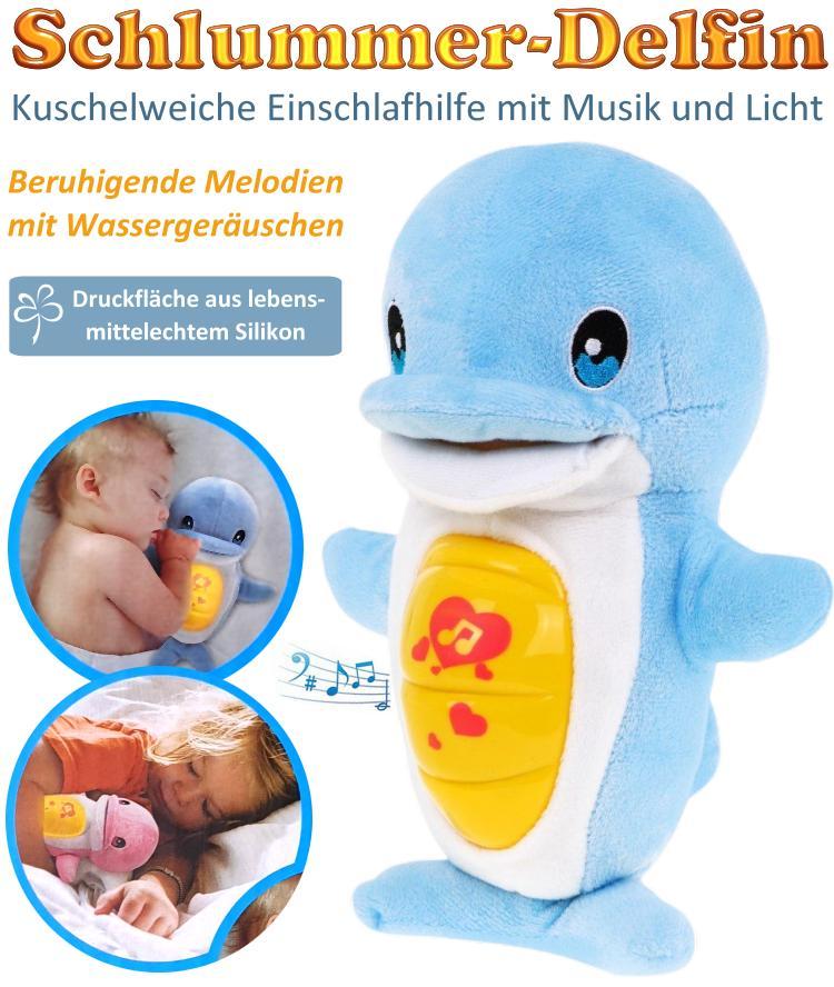 BabyPur Schlummer-Delfin Einschlafhilfe