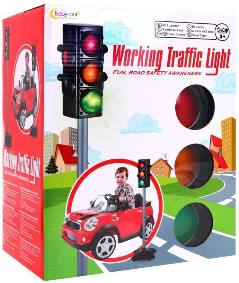 BabyPur große Verkehrsampel für Kinderfahrzeuge