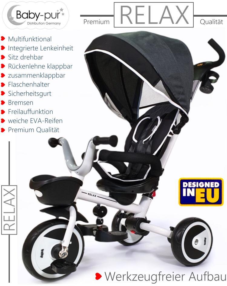 Baby-pur Schiebe-Dreirad Relax