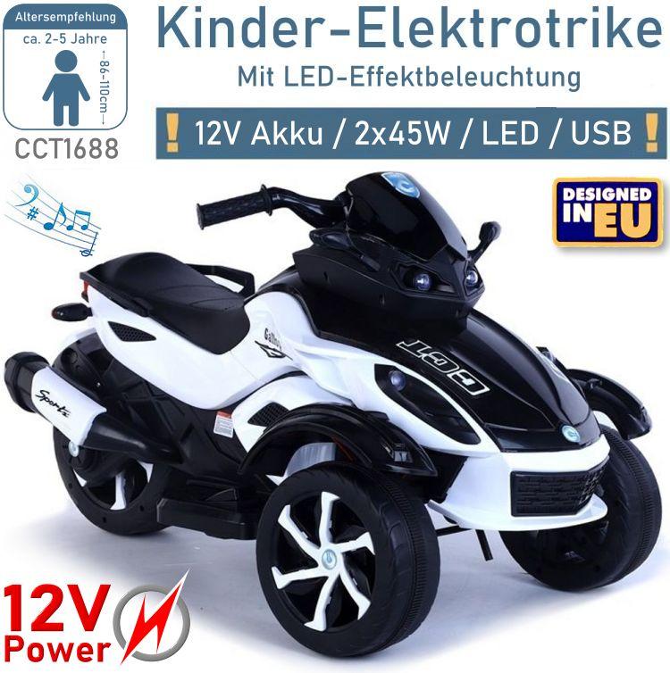 Elektrisches Kindermotorrad Trike CCT1688