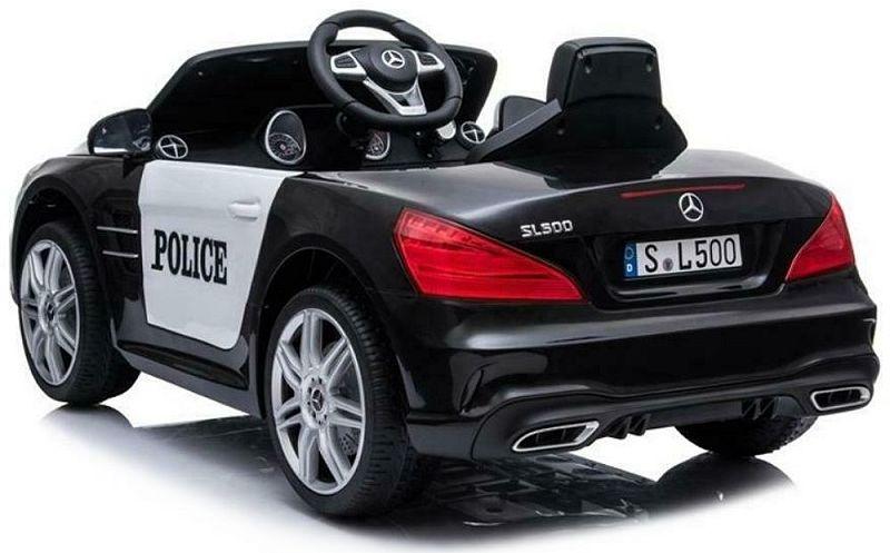 Elektro Auto für Kinder Mercedes SL500 Polizeiauto