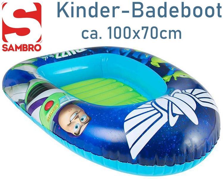 Kinder Schlauchboot im Toy Story