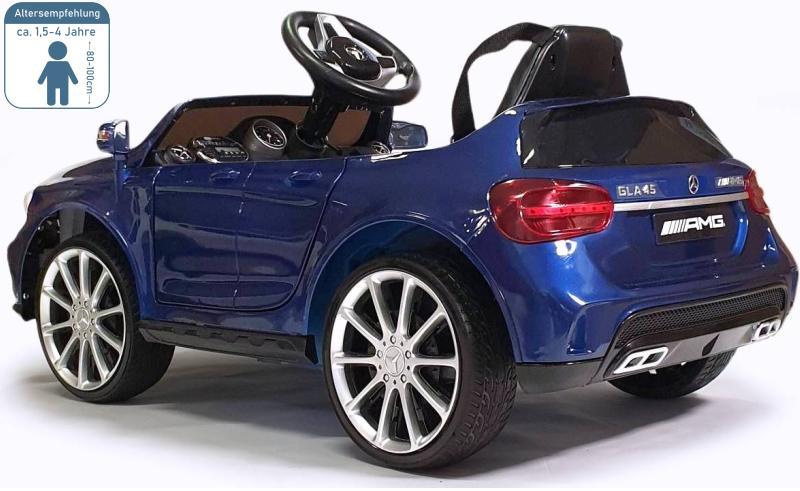 Elektro Auto Mercedes Benz GLA-45 für Kinder