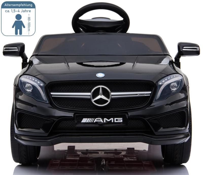 Elektro Auto für Kinder Mercedes GLA45 lackiert