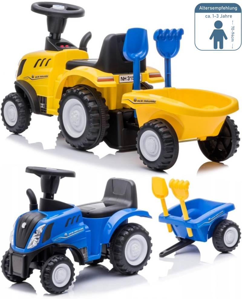Kinderauto Traktor Rutscher New Holland