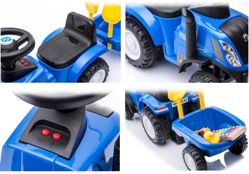 Rutscherfahrzeug Traktor New Holland T7