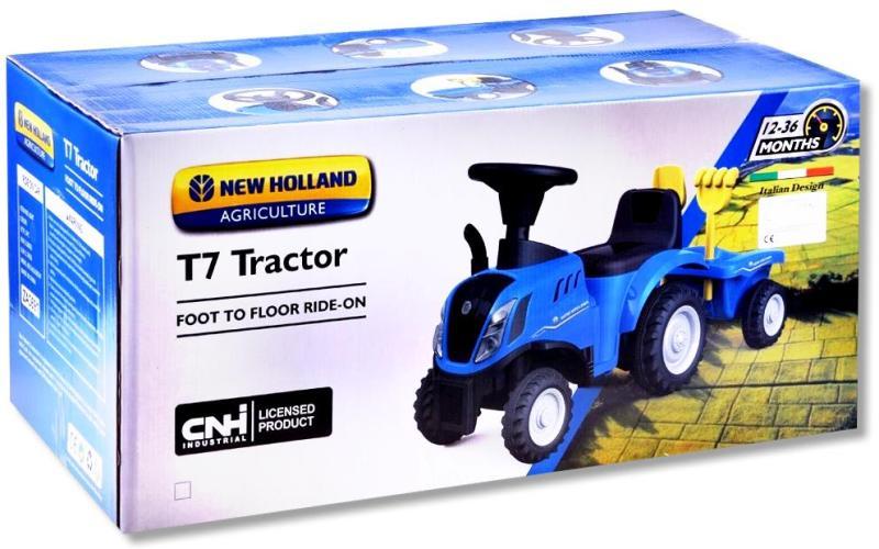 New Holland Traktor T7 als Rutscherfahrzeug für Kleinkinder