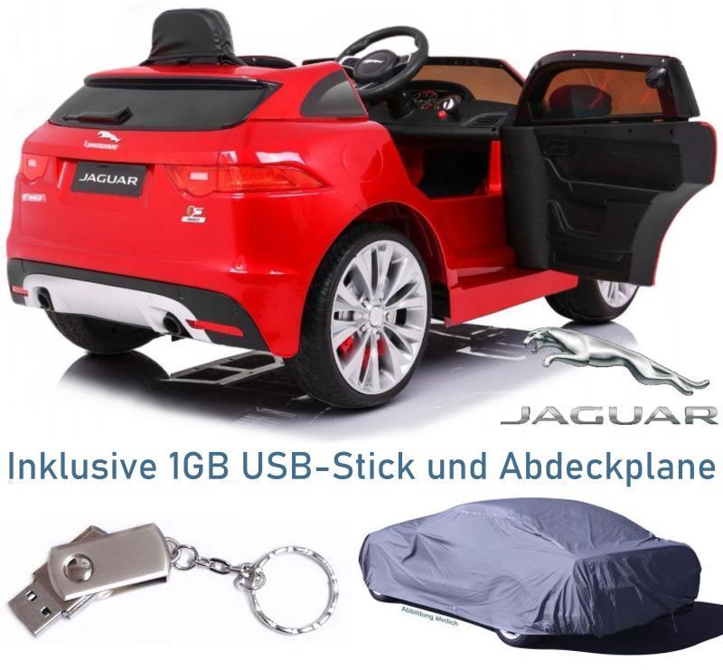 XL Elektroauto für Kinder Jaguar F-Pace