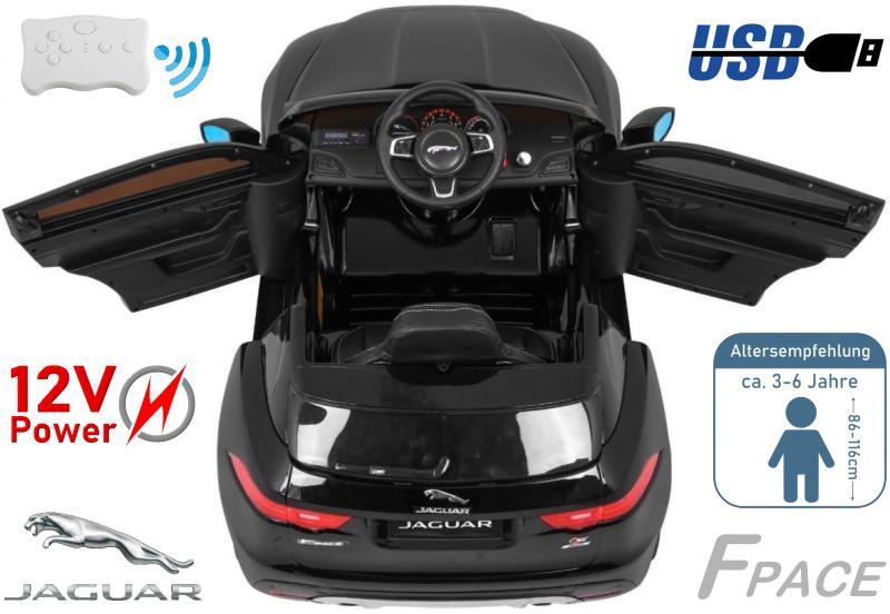 Elektrisches Kinderauto Jaguar F-Pace XL
