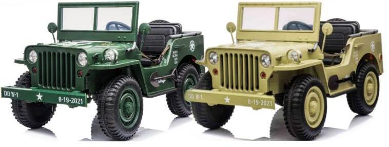 24V Kinder Elektroauto Geländewagen Military Militärfahrzeug