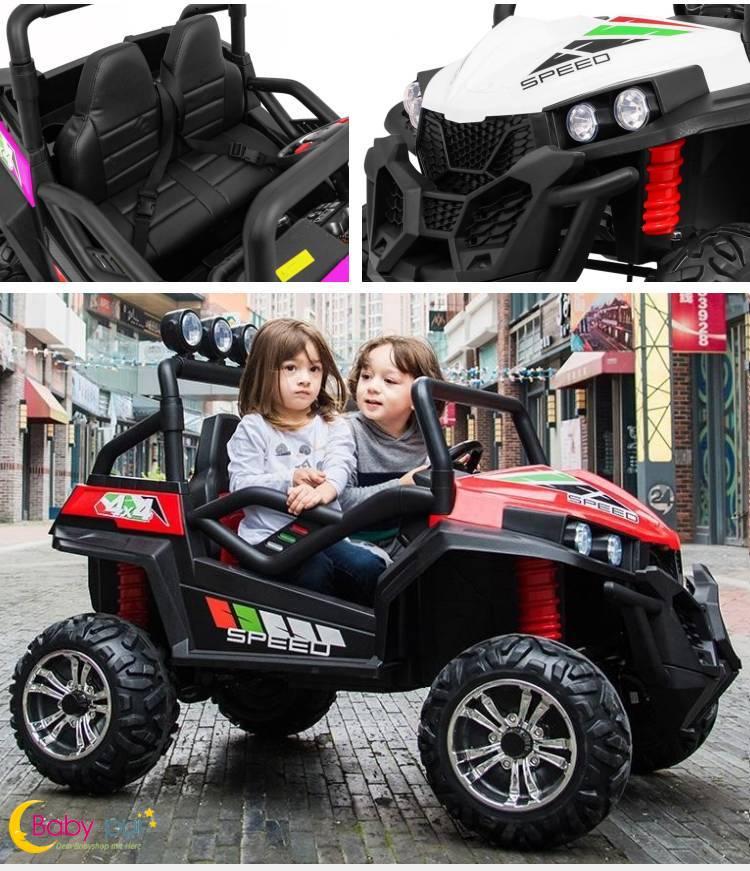 Zweisitzer Elektroauto für Kinder Geländewagen S2588 Facelift