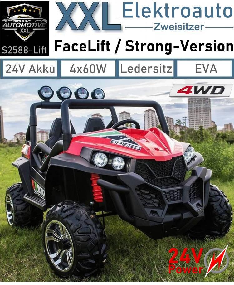 Kinder Elektroauto XXL S2588 Facelift Strong-Version Geländewagen Zweisitzer