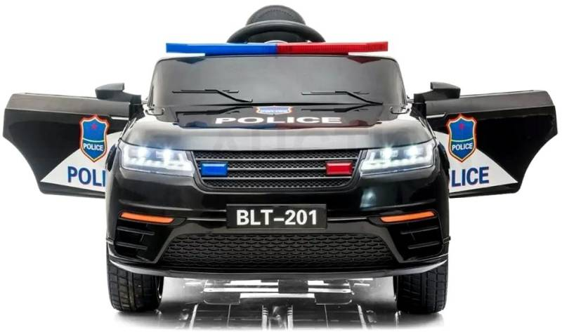 Kinder Elektrofahrzeug Police Polizei Elektroauto SUV