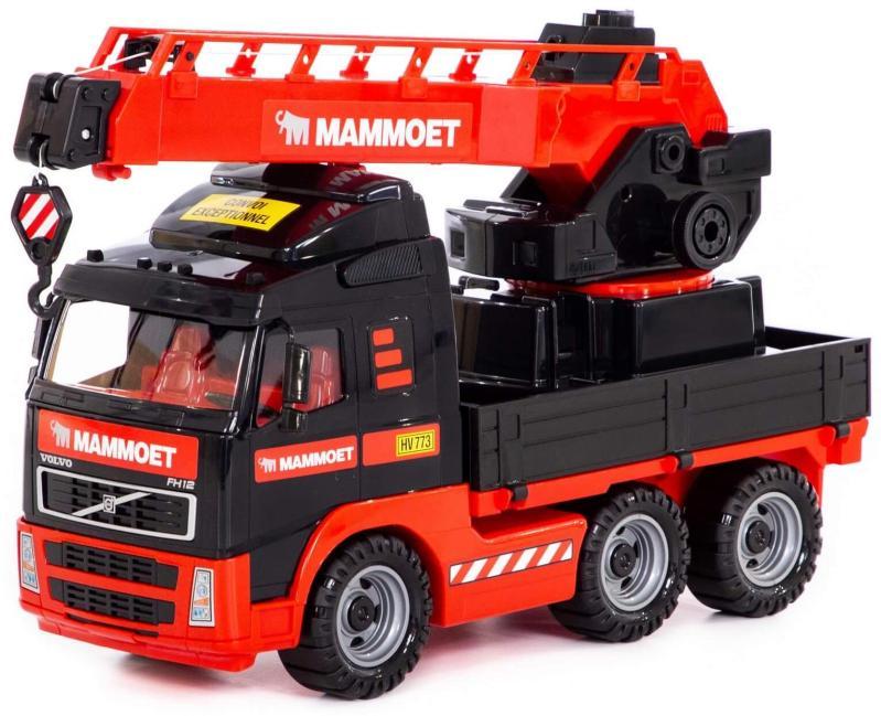 Spielzeug großer LKW-Kran Volvo Mammoet