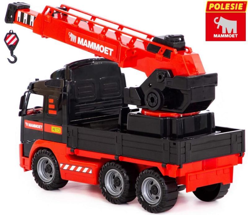 Kinder Spielzeug XL LKW Kran Volvo FH12 Polesie Mammoet