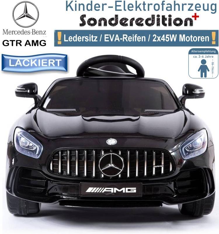 Kinder Elektrofahrzeug Mercedes Benz GT-R Elektroauto