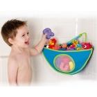 Munchkin: Bad Eck-Organizer für Badespielzeug (BLAU)