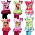 2-teiliges Sommerset (Minnie, Emily Erdbeer, Dora, Rapunzel)