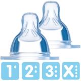 MAM: 2 Stück Flaschensauger, Seidensauger