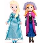Posh Paws: Die Eiskönigin, 28cm Stoffpuppe Anna & Elsa