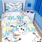 Disney: Kinderbettwäsche Die Eiskönigin Bett & Kissenbezug OLAF (669)