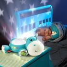Fisher-Price: Schlummerfreund Spieluhr Projektor Nilpferd (blau)