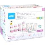 MAM: XL Starterset Babyflaschen mit Zubehör (rosa)