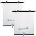 Safety 1st: 2x Auto Sonnenschutzrollo schwarz/weiss Doppelpack