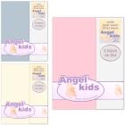 Angel Kids: 2x Spannbettlaken 30x74cm für Babybett o.ä