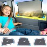 Munchkin: Auto Sonnenschutz Flexibel anpassbar Stretch-To-Fit