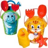 Androni: 6-teiliges Sandspielzeug, Strandspielzeug