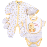 Aardvark: 5-teiliges Baby-Set Modell:Little Tweety