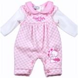 Aardvark: 2-teiliges Baby-Set Pullover + Latzhose Häschen für Mädchen