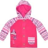 Baby-pur Collection: Baby Kapuzen Fleece Jacke