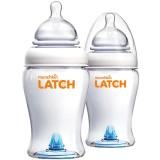 Munchkin: LATCH 2x240ml Babyflaschen Set