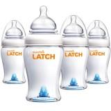 Munchkin: LATCH 4x240ml Babyflaschen Set