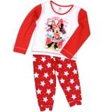 Disney: Minnie Maus Kinder Pyjama Stars rot weiss 1-4 Jahre