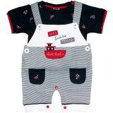 Little Mariner: 2-teiliges Baby Set Latzhose mit Shirt