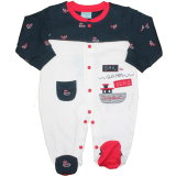 Just to cute: Baby Strampler Overall Sail the 7 Seas