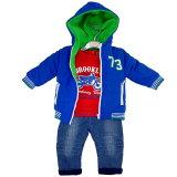 H&P: 3-teilges Baby-Set für Jungen Thermojacke, Thermohose, Shirt
