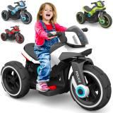 Elektrisches Kinder-Motorrad Elektrofahrzeug Police E-Trike