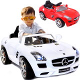 Elektrisches Kinder-Auto Elektroauto Mercedes Benz SLS AMG