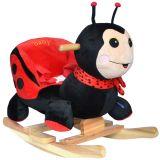 Baby Kleinkind Schaukeltier Marienkäfer Ladybug (XL-535)