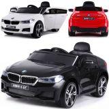 BMW 6 GT Elektrisches Kinderauto Ledersitz EVA-Reifen