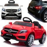 Mercedes Benz AMG GLA-45 Elektroauto mit EVA-Rädern und Ledersitz