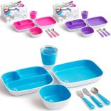 MUNCHKIN: Colour Me Hungry Esslern-Set 7-tlg. in Ausmal-Geschenkbox