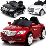 Kinder Elektroauto 12V mit Ledersitz und weichen EVA-Reifen Bestar 800